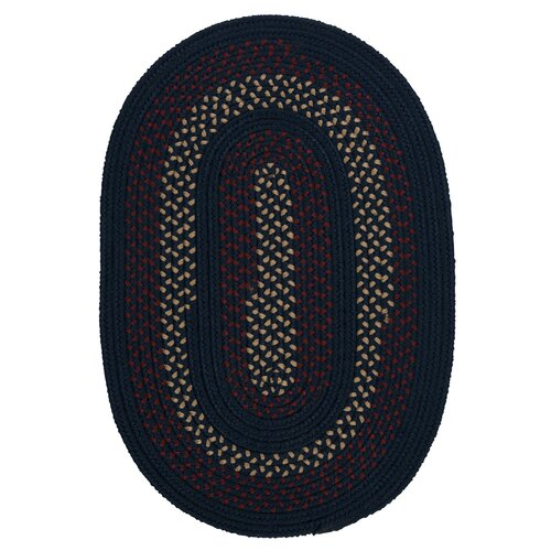 Colonial Mills Deerfield Midnight Blue Indoor/Outdoor Rug