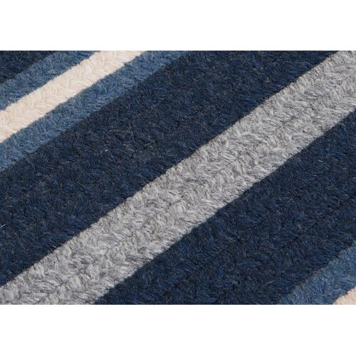 Salisbury Blue Striped Sample Swatch