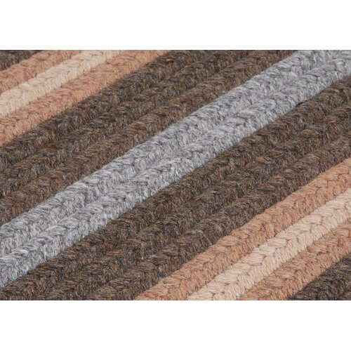 Salisbury Brown Striped Sample Swatch