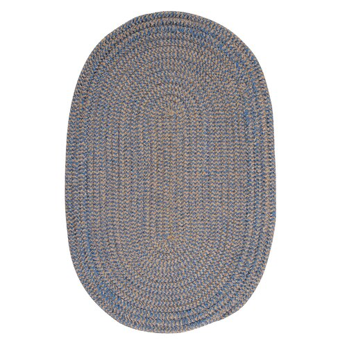 Softex Check Blue Ice Check Indoor/Outdoor Rug