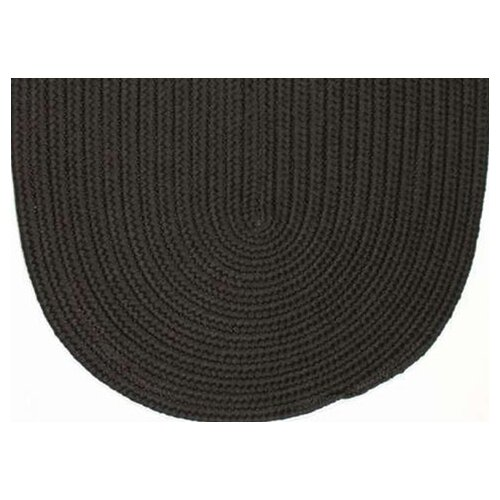 Colonial Mills Boca Raton Black Indoor/Outdoor Rug