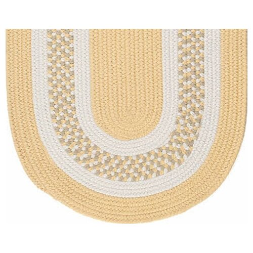 Colonial Mills Flowers Bay Yellow Indoor/Outdoor Rug