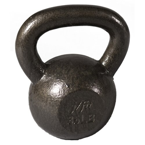 J Fit 30 lbs Cast Iron Kettlebell