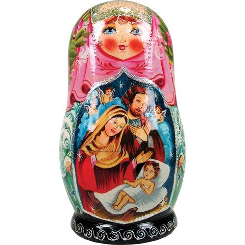 Russia Nativity Angel Ornament Doll