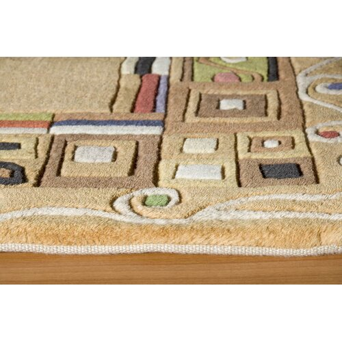 Momeni New Wave Gold Rug