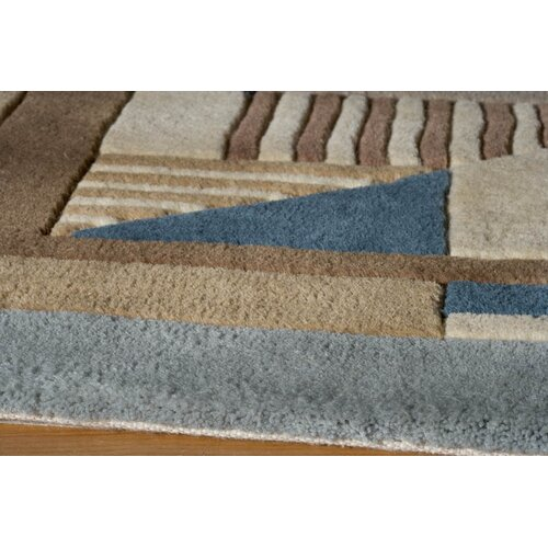 Momeni New Wave IV Blue/Brown Rug