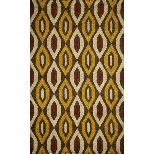 Momeni Habitat Gold Tufted Rug