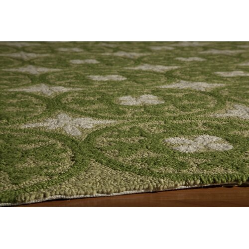 Momeni Veranda Green Outdoor Rug