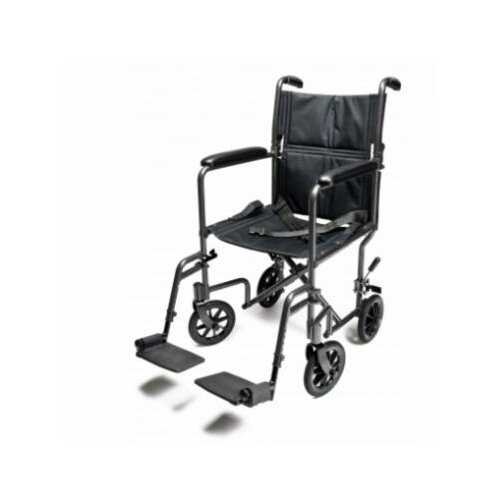Everest & Jennings Steel Transport Ultra Lightweight Wheelchair
