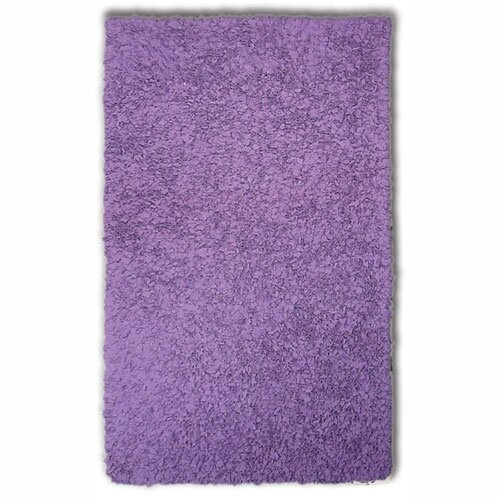 Wildon Home ® Shaggy Raggy Purple Rug