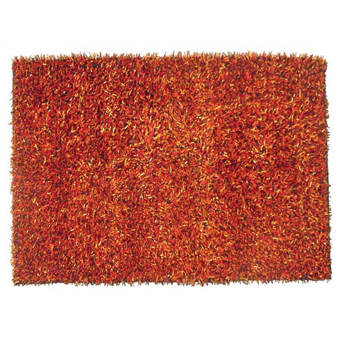 Coral Red Rug
