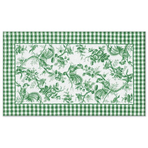 Wildon Home ® Accent Rooster Toile Novelty Rug