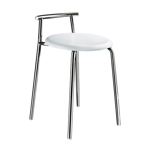 Smedbo Outline Shower Chair in Stainless Steel