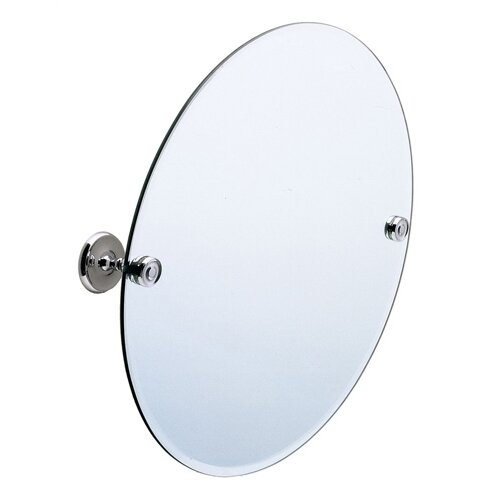 Villa Round Beveled Edge Mirror