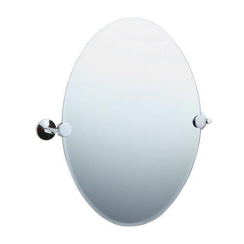 Studio Oval Beveled Edge Mirror