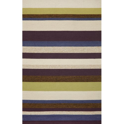 Ravella Stripe Purple Indoor/Outdoor Rug