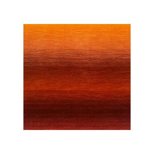 Trans Ocean Ombre Orange Dark Red Sunrise Solid Area Rug