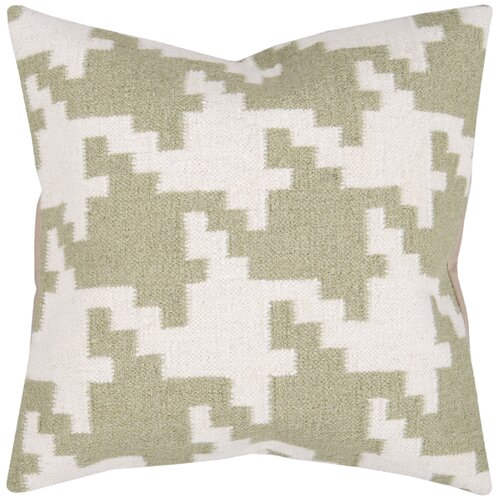 Striking Houndstooth Pillow