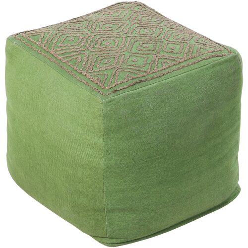 Distinguished Diamond Pouf Ottoman