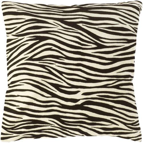 Wonderfully Wild Zebra Pillow