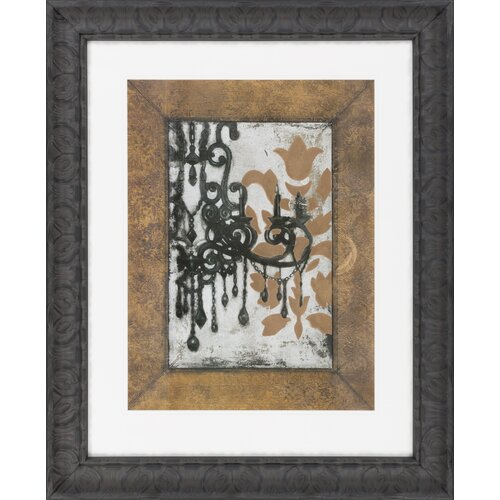 Surya Antique Chandelier I by Vision Studio Framed Graphic Art