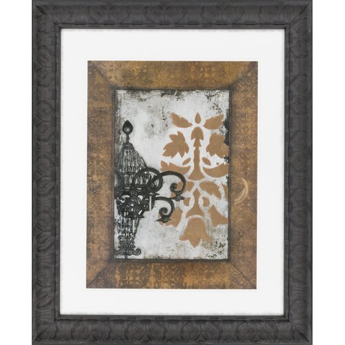 Surya Antique Chandelier II by Vision Studio Framed Graphic Art
