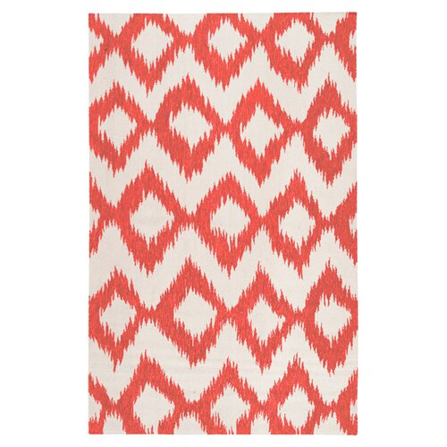 Frontier Poppy Red/Winter White Rug