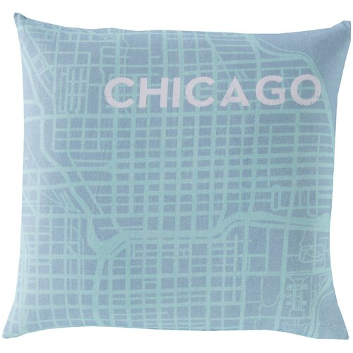 Surya Take me to Chicago Pillow