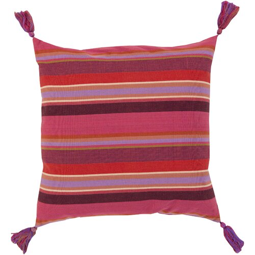 Stripe and Tassel Pillow