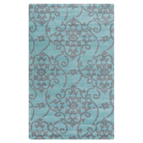Surya Cosmopolitan Slate Blue/Sea Blue Rug