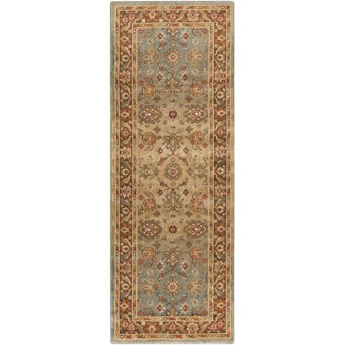 Arabesque Tan Rug