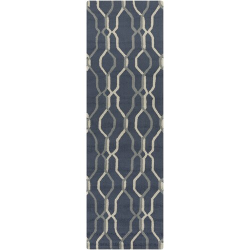 Rain Teal Outdoor Rug