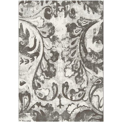 Surya Contempo Gray Flower Rug