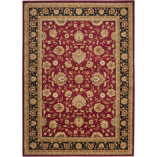 Surya Midtown Red/Black Rug