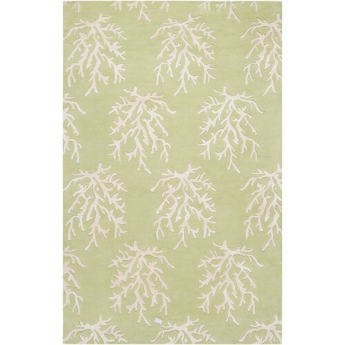 Surya Escape Lettuce Leaf Rug