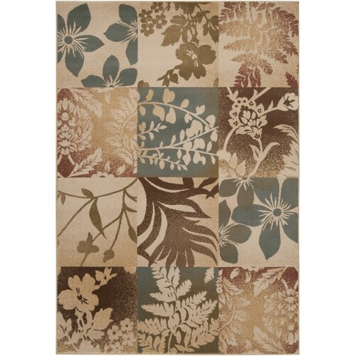 Surya Riley Camel/Tea Leaves Rug