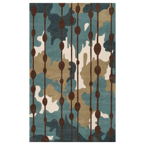 Surya Lava Slate Blue/Palm Green Rug