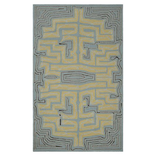Surya Labrinth Stormy Sea Outdoor Rug