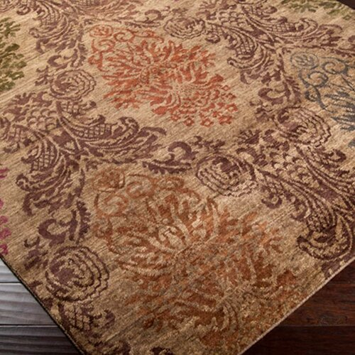 Surya Brocade Tan Rug
