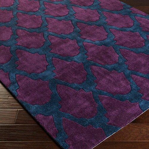 Surya Cosmopolitan Marine Blue/Mulberry Rug