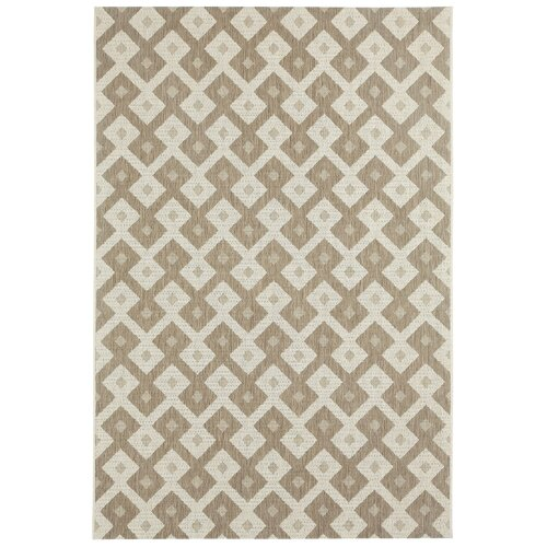 Elsinore Wheat Diamond Indoor/Outdoor Rug
