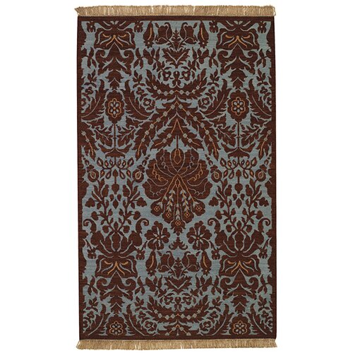 Capel Rugs Indienne Coffee Floral Lace Rug