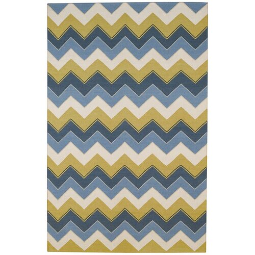 Capel Rugs Irish Stitch Slate/Clay Rug