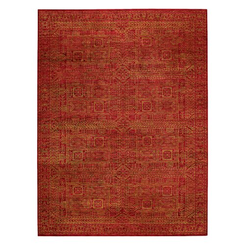 Capel Rugs Tonal Trace Red Rug