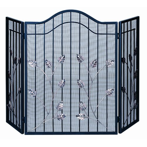 3 Fold Black Gate Screen