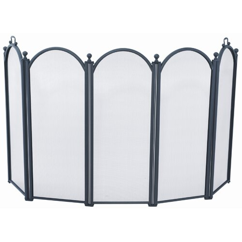 Uniflame Corporation 5 Panel Fireplace Screen