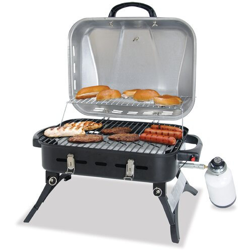 Uniflame Corporation Stainless Steel LP Gas Barbeque Grill