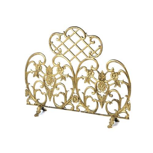 Uniflame Antique Gold Fireplace Screen Reviews Wayfair