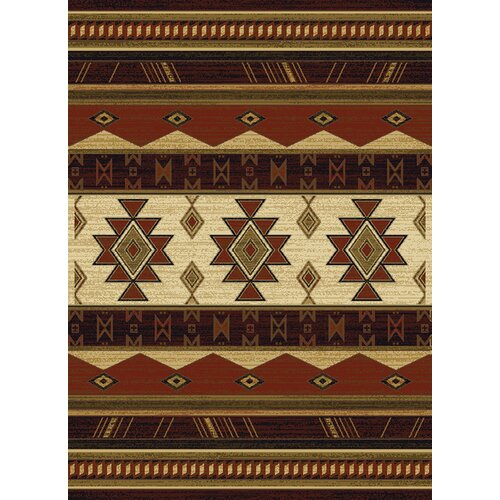 China Garden Southwest Wind Auburn Rug