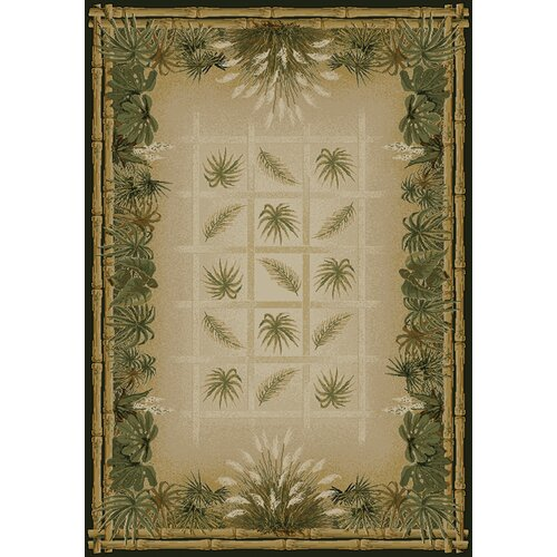 United Weavers of America Genesis Palmetto Natural Novelty Rug